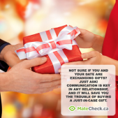 Holiday Dating: Don't know if you are exchanging gifts? Just ask!